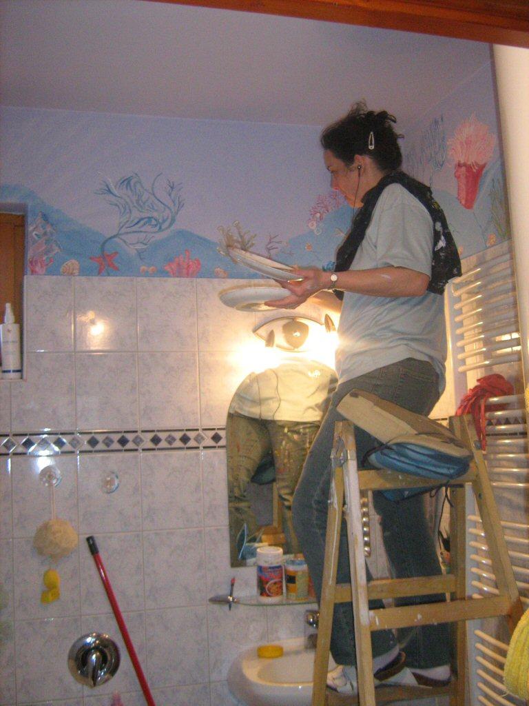 Falfestés, festés, dekoráció
