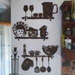 konyha dekoráció falmatrica helyett falfestmény